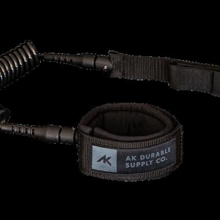 AK Durable Supply Co. 6′ Coil Leash